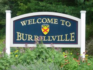 Welcome to Burrillville sign